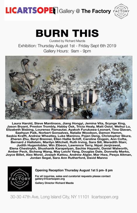 Poster LIC Arts Open